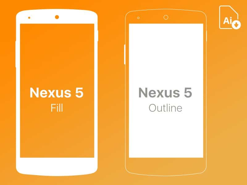 Nexus 5 Free Mockup