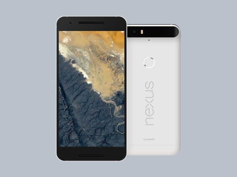 Nexus 6P Vector Mockup