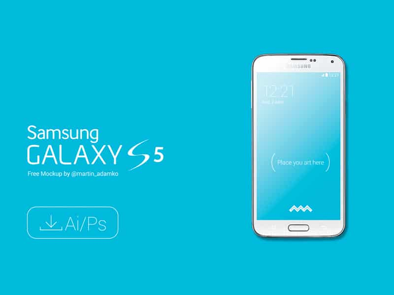 Samsung Galaxy S5 Vector