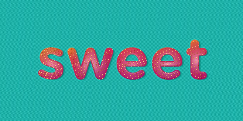 Sweet Strawberry Text Effect