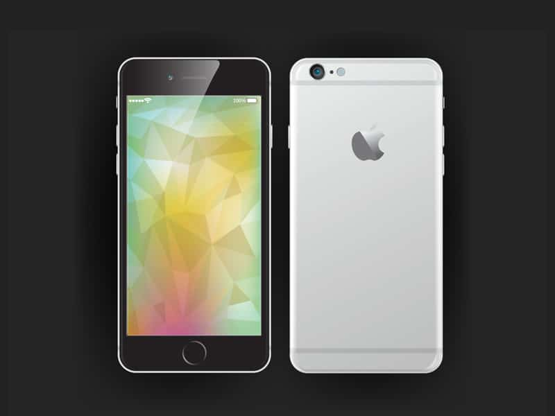 Vector iPhone 6 Mockup
