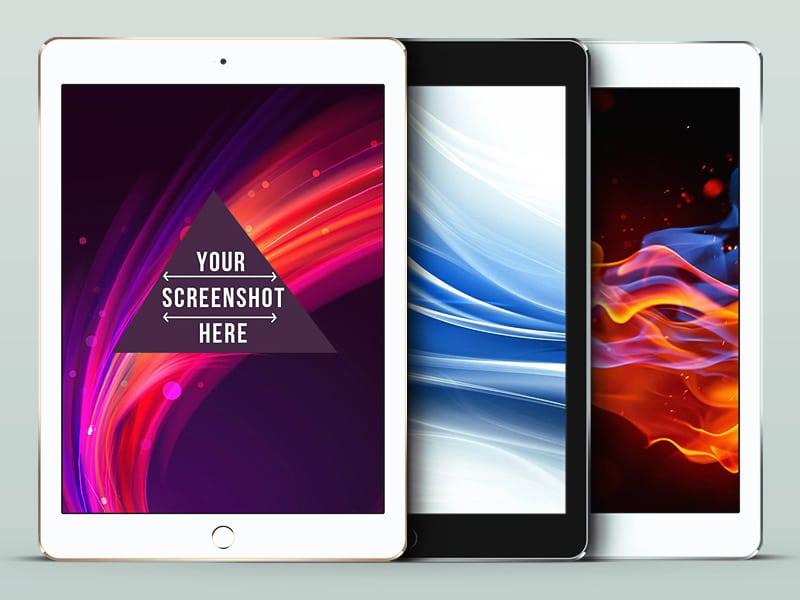 iPad Air 2 PSD Mockup