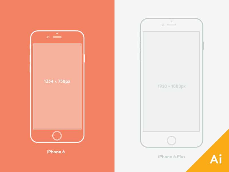 iPhone 6 and 6 Plus Mockup