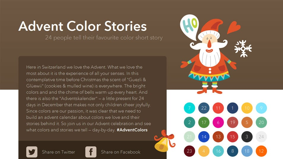 Advent Color Stories