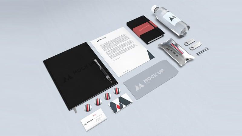 Branding / Identity MockUp PSD