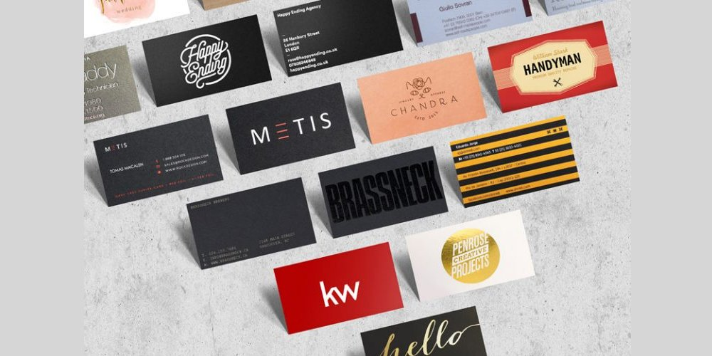 Business Card Bundle Mockup PSD