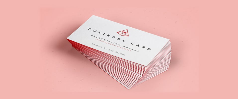 Business Card Mock-Up PSD