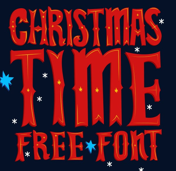 Christmas Time Free Font