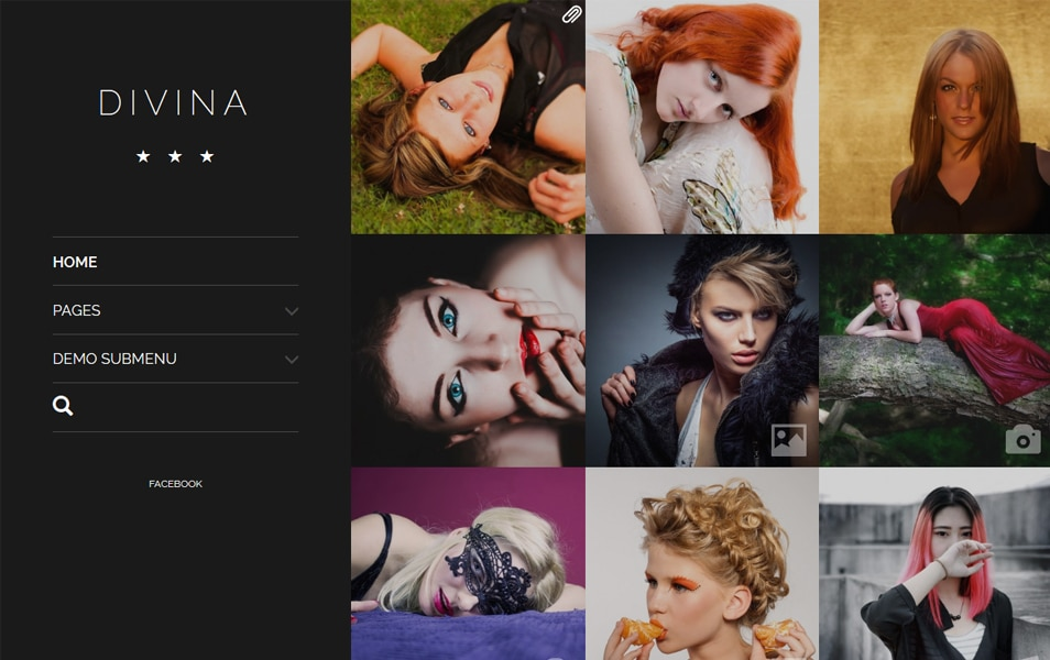 Divina Responsive WordPress Theme