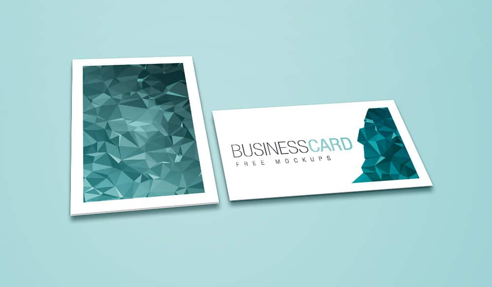 Free Business Card Mockup Layouts