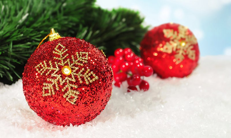 Free Christmas Bokeh Picture