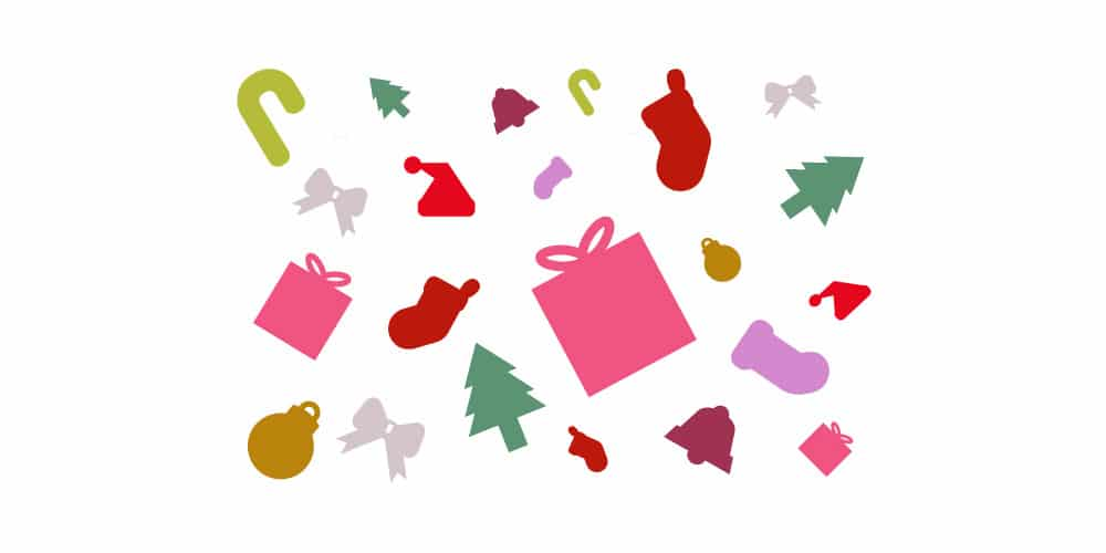 Free Flat Christmas Vector Icons