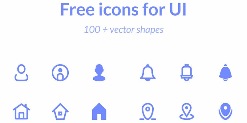 Free Icons for UI