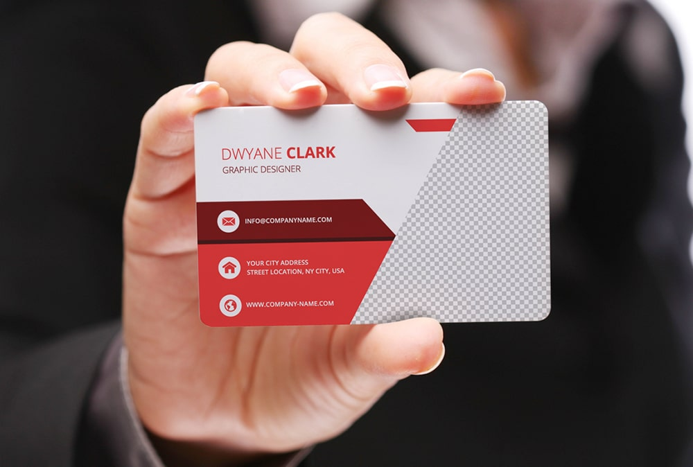 Free Mockup Business Card PSD