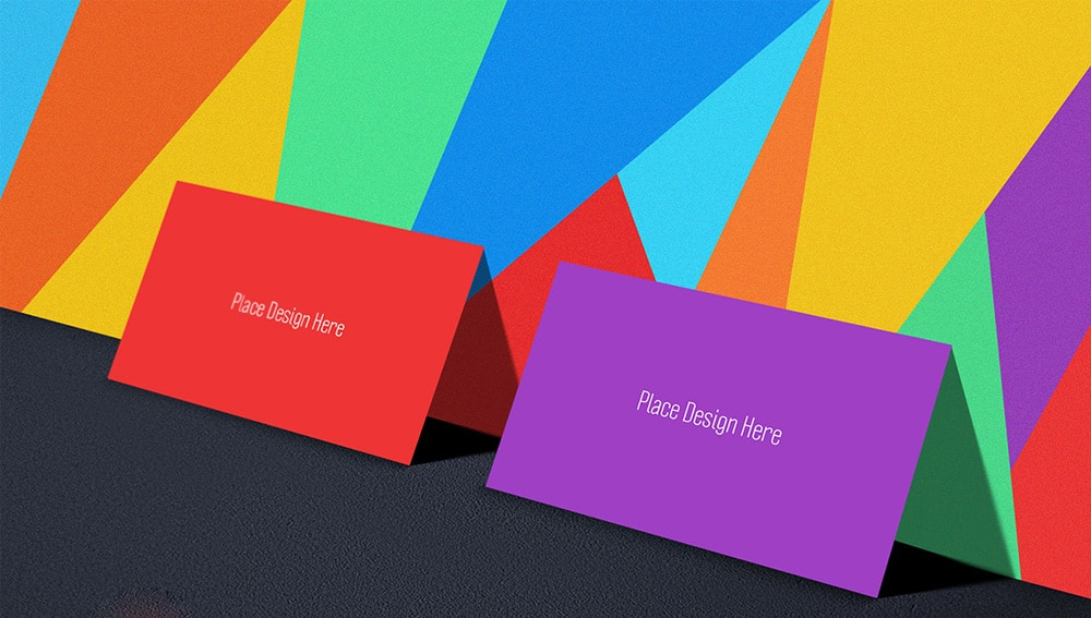 Free Tutti Frutti Business Card