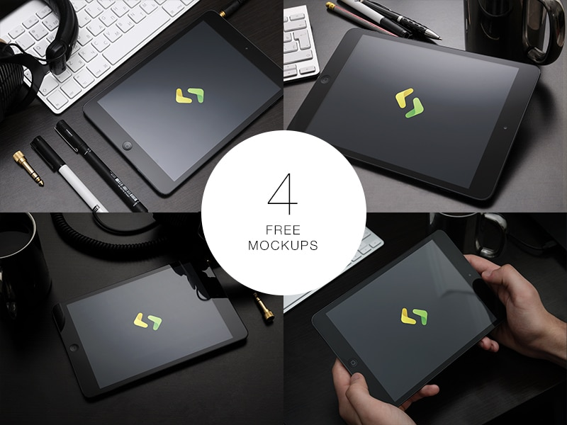 Free iPad Mockups PSD