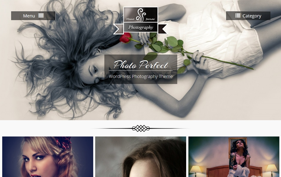 Photo Perfect Responsive WordPress Theme