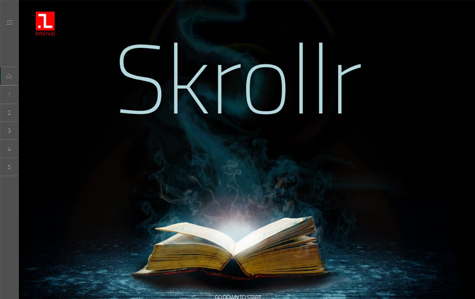 Skrollr Responsive WordPress Theme