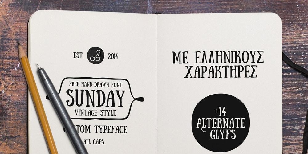 Sunday Free Font
