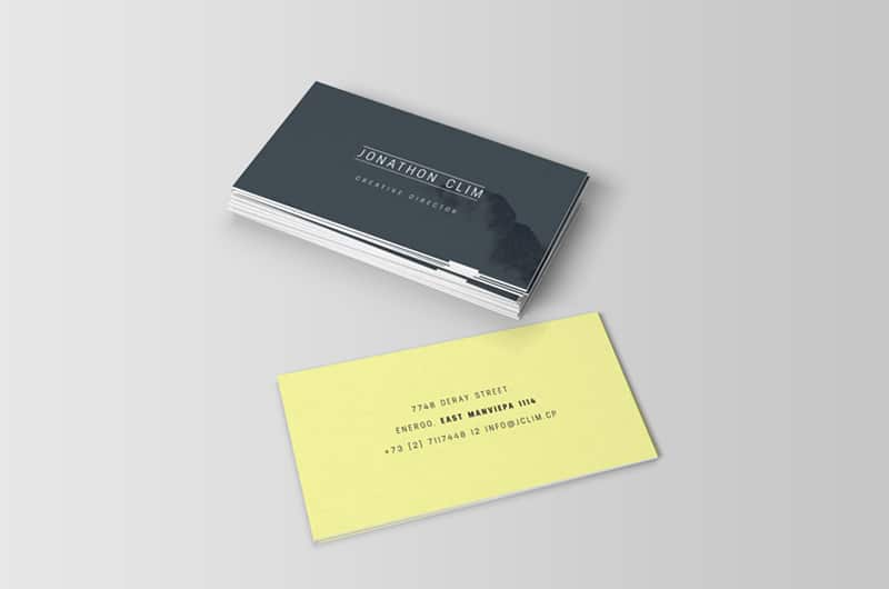 Ultimate Business Card Mockups