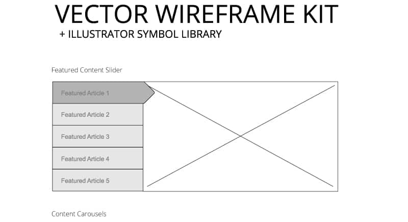 Vector Wireframe Kit