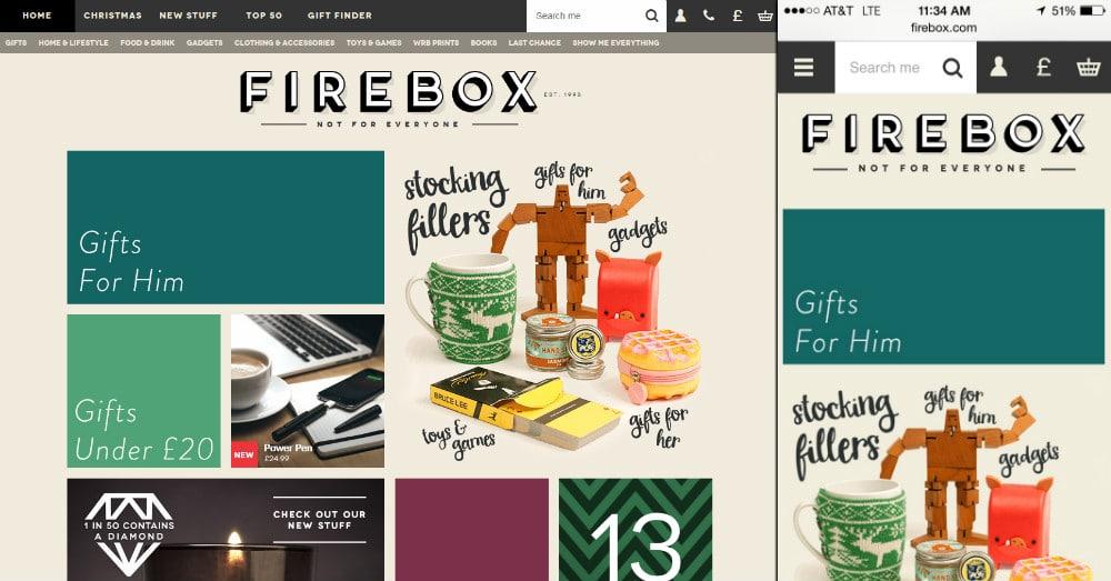 ecommerce firebox