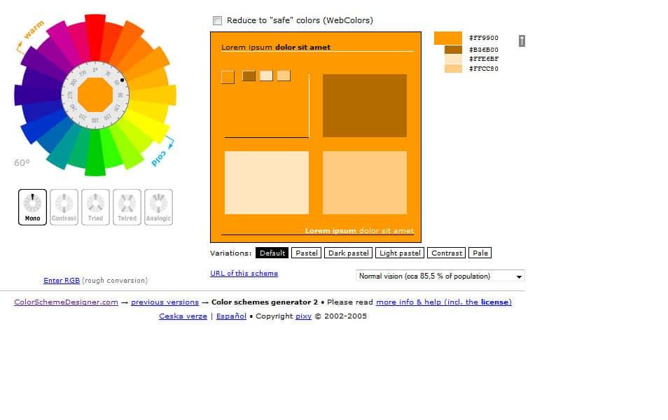 [ws] Color Scheme Generator 2