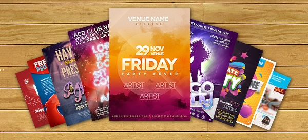10 Free Flyer Templates PSD