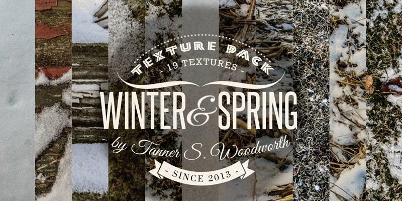 19 Free Winter/Early Spring Texture Pack