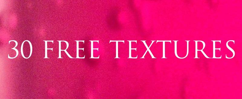 30 Free Textures
