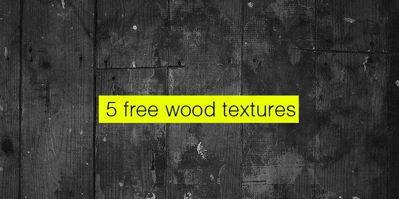 5 Vintage Wood Texture