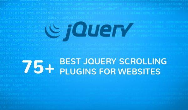 75+ Best jQuery Scrolling Plugins for Websites