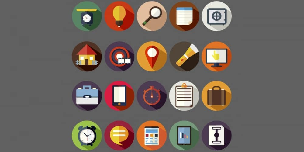 Assorted Round Icons