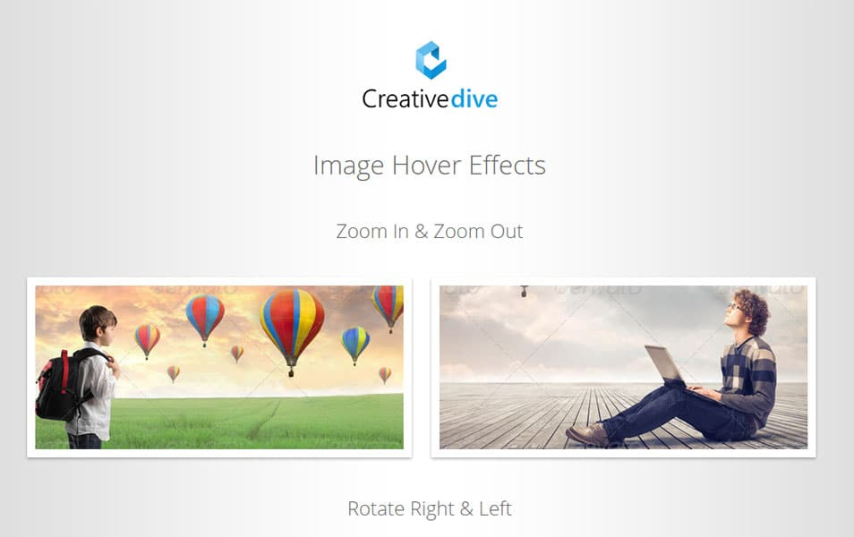 CSS3 Image Hover Effects - Pure CSS