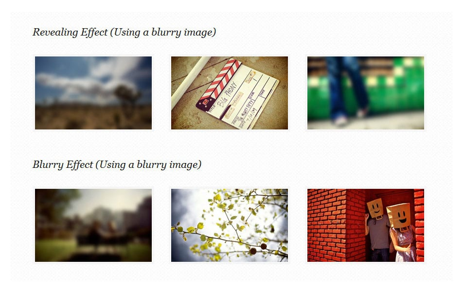 CSS3 Image Hover Effects