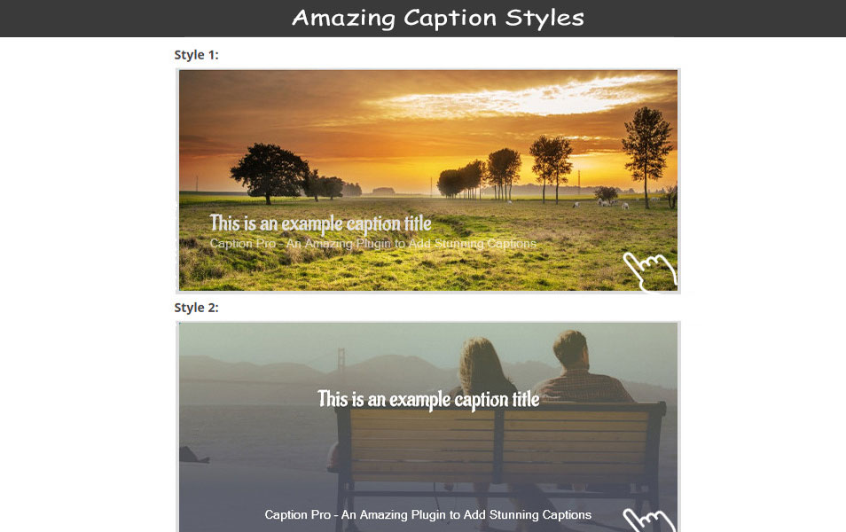 Caption Pro – Image Caption WordPress Plugin