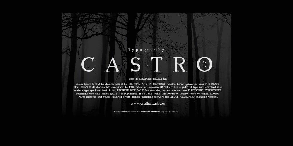 Castro Free Font