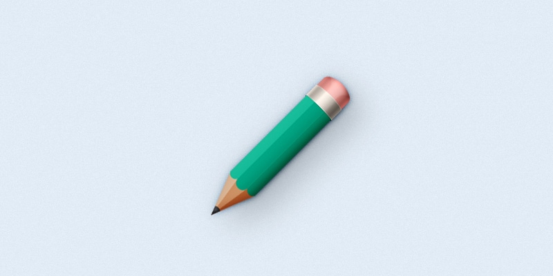 Create a Simple Pencil Icon in Adobe Photoshop
