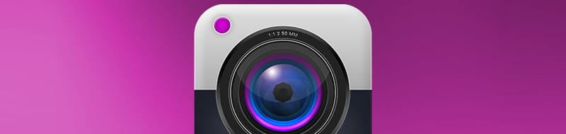 Create an awesome camera icon in Photoshop