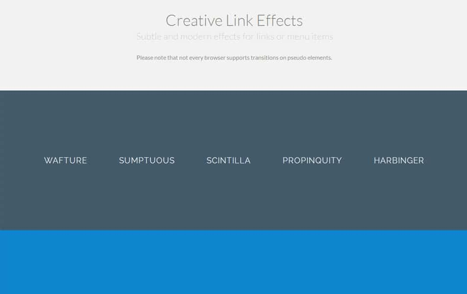 Creative Link Effects