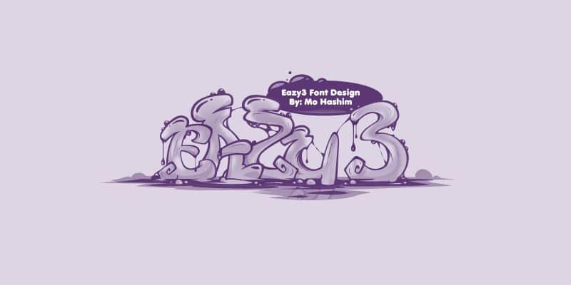 Eazy 3 Free Font