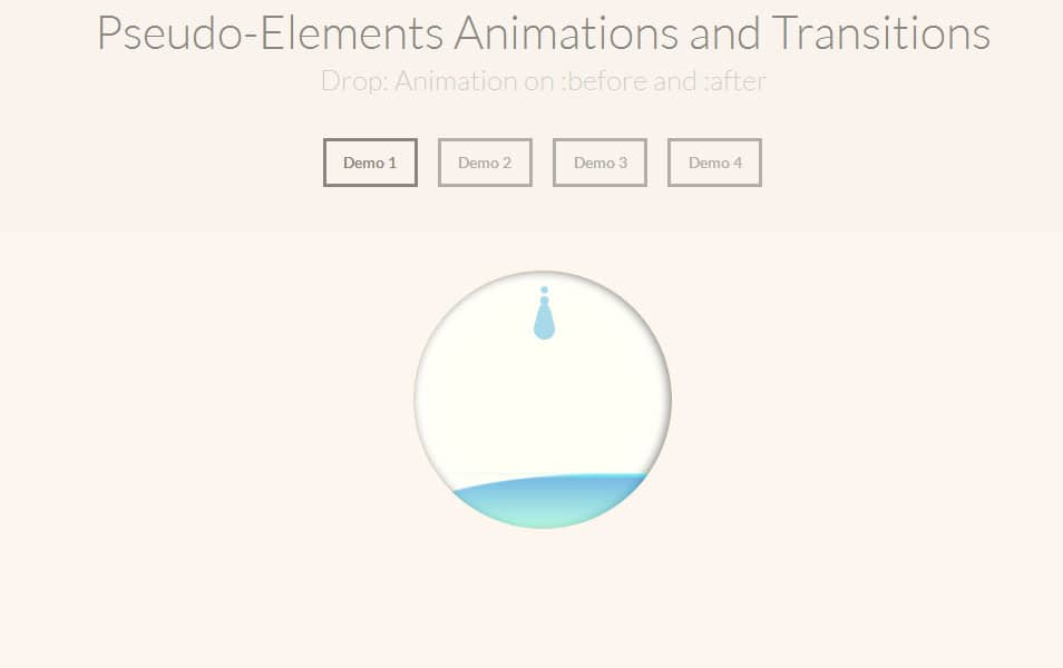 Examples of Pseudo-Elements Animations and Transitions
