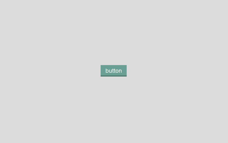 Flat Bevel button hover effect