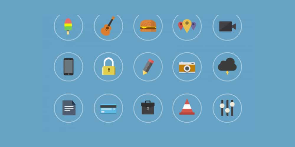 flat-icons-psd