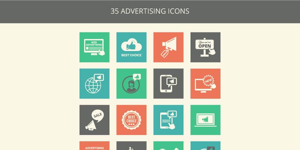 Free Advertising Icons