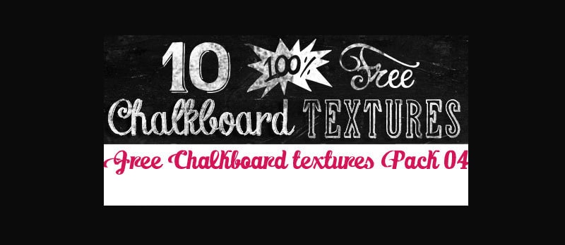 Free Chalkboard Textures