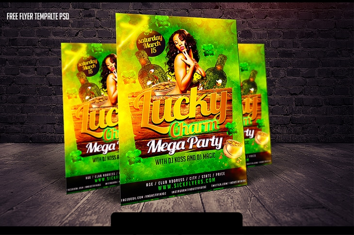 Free Flyer Template PSD