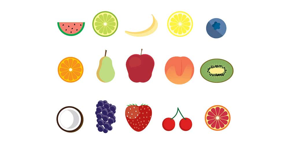 Free Fruit Icons