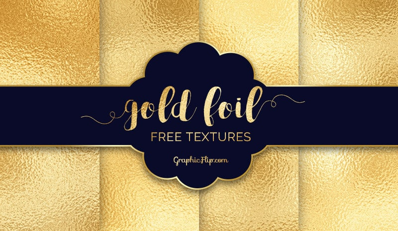 Free Gold Foil Textures