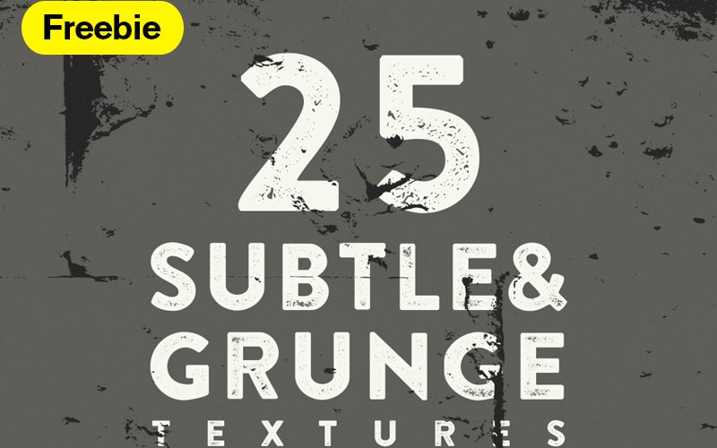 Free Grunge and Subtle Vector Textures